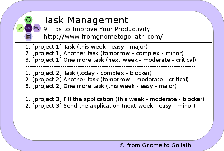 Task Management - Boost Productivity Using the MIT Method