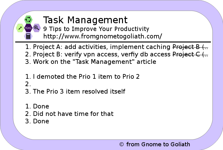 Task Management - 9 Tips to Improve Your Productivity