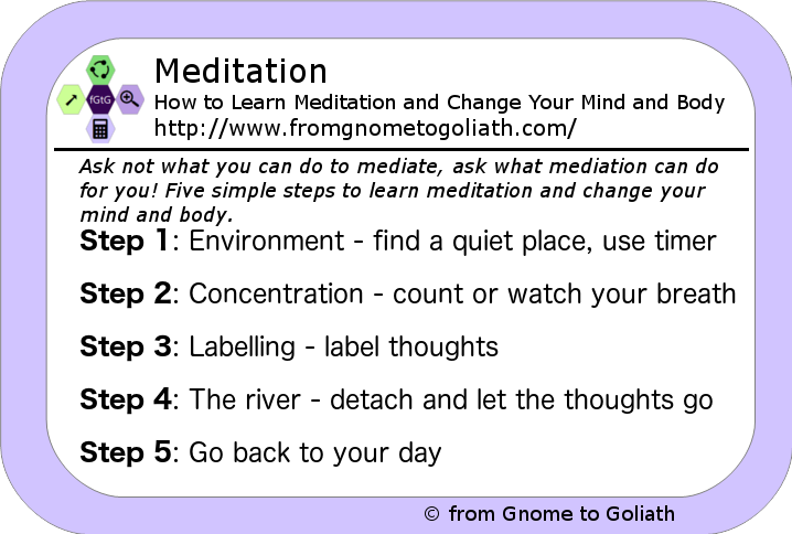 Meditation - How to Learn Meditation and Change Your Mind and Body