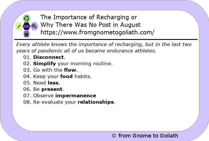 The Importance of Recharging
